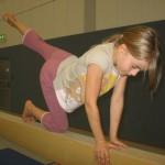 15.04.2013: Schwebebalken - Kniestand