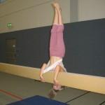 15.04.2013: Schwebebalken - Handstand