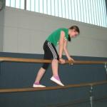26.04.2013: Stufenbarren - Übersteigen