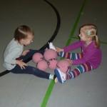 Spielen mit Softbällen