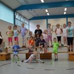 27.06.2017: Gruppe 5-6Jährige mit ÜL+Helferinnen