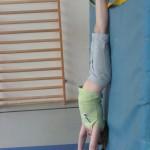 Handstand an der Matte