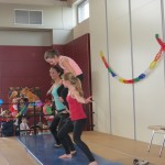 Fasching 2014: Akrobatik