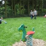 Auf dem Spielplatz Taunusblick