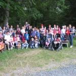 13.06.2015: 5.Wandertag - Gruppe im Wald