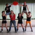 """""""Ur""""-Gruppe Cheerleader aus der Gründerzeit 2004"""