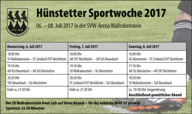 Hünstetter Sportwoche 2017