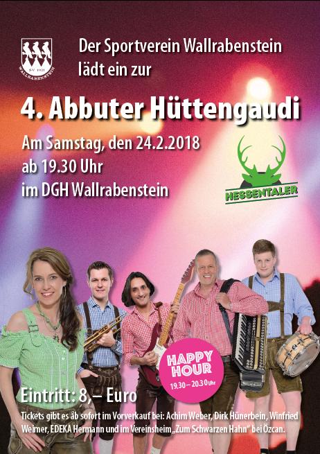 4. Hüttengaudi 2018